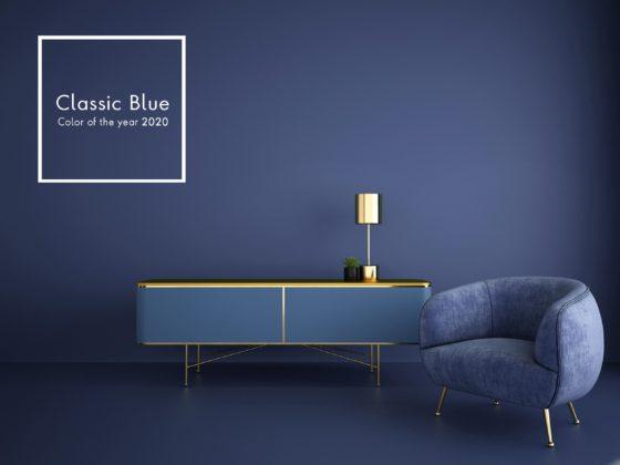 ClassicBlue_Stuhl mit Sideboard